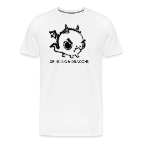 ANGRY DRAGON - Men's Premium T-Shirt
