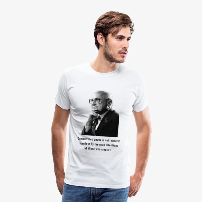 Milton Friedman Concentrated Power