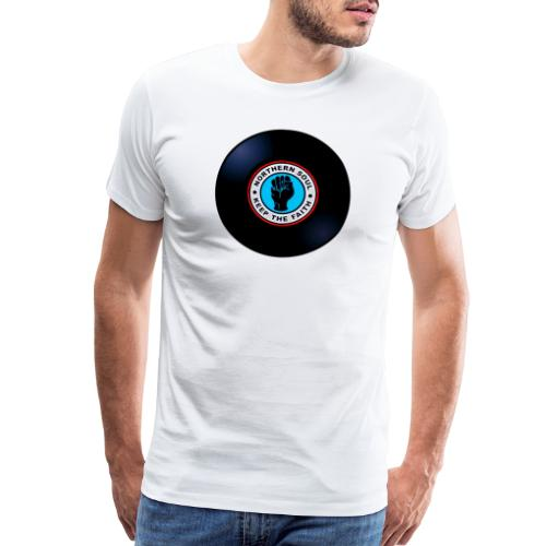 vinyl nothern soul keep faith - Men's Premium T-Shirt