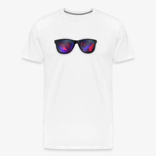 Sunglasses Dezign Facet - Men's Premium T-Shirt