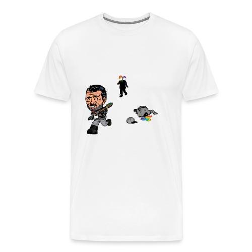 Negan Spreading Rainbow - Men's Premium T-Shirt
