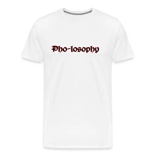 Pholosophy WordMark - Men's Premium T-Shirt