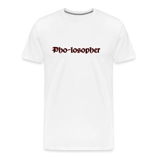 Pholospher Word Mark - Men's Premium T-Shirt