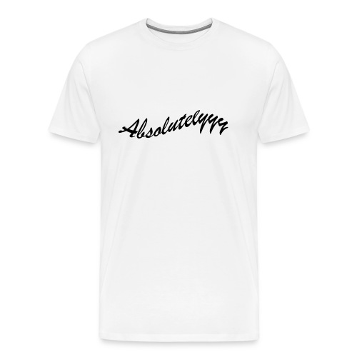 Absolutelyyy - Men's Premium T-Shirt