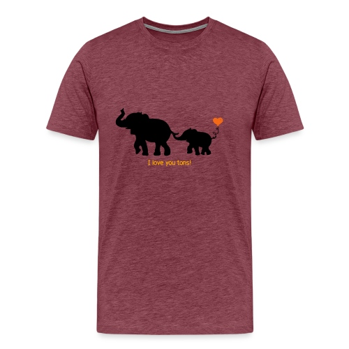 I Love You Tons! - Men's Premium T-Shirt