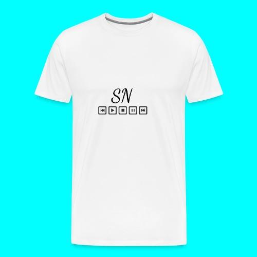 The Samantha Navio play button T-shirt - Men's Premium T-Shirt