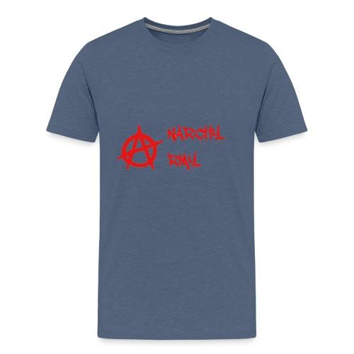 Anarchy Army LOGO - Men's Premium T-Shirt