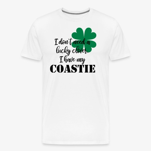 Lucky Clover Coastie - Men's Premium T-Shirt