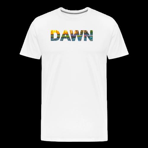 DAWN (sunset texture) - Men's Premium T-Shirt
