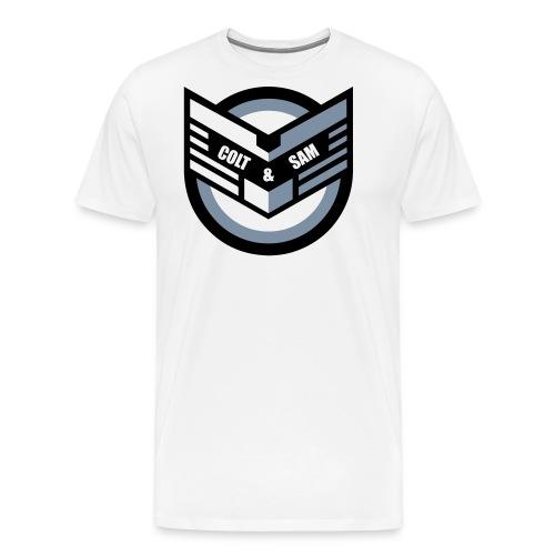 COLT AND SAM LOGO - Men's Premium T-Shirt