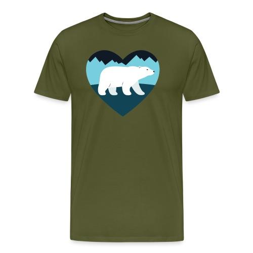Polar Bear Love - Men's Premium T-Shirt