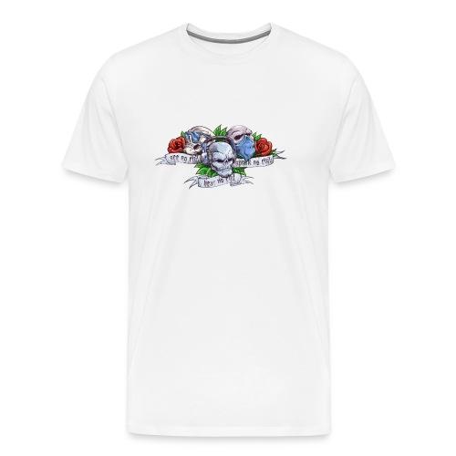 The Evils Color Logo - Men's Premium T-Shirt