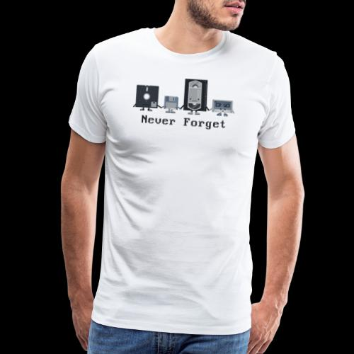 Never forget the classics - Men's Premium T-Shirt
