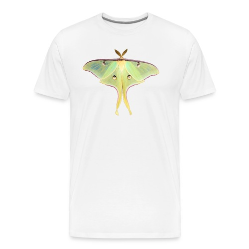 GREEN LUNA MOTH - Men's Premium T-Shirt