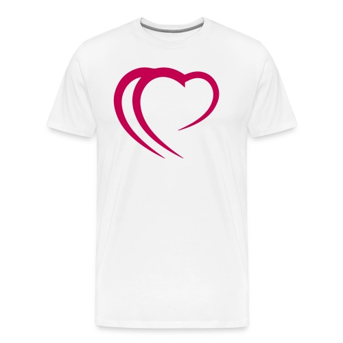 Logo Pink - Men's Premium T-Shirt