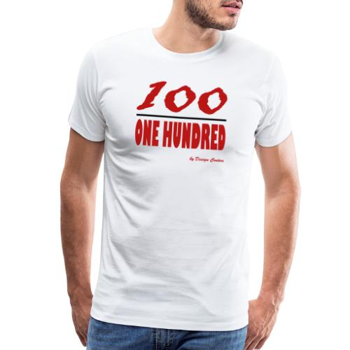ONE HUNDRED RED - Men's Premium T-Shirt