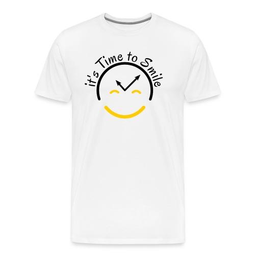 It s Time to Smile - Men's Premium T-Shirt