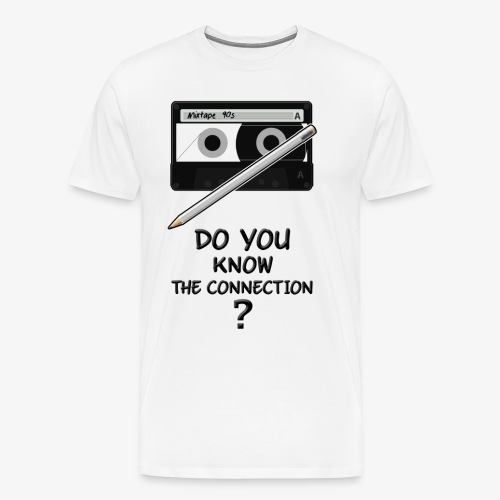 only 90s kids will know the connection - Men's Premium T-Shirt