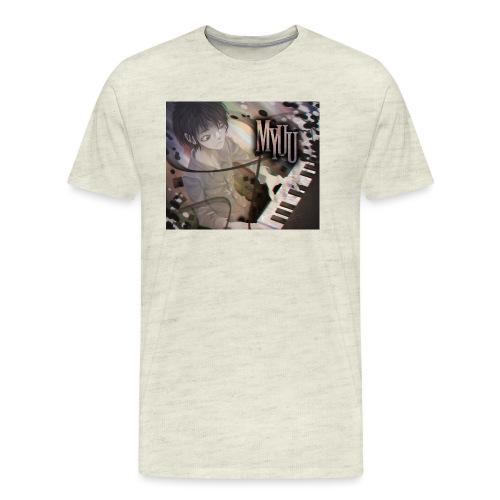 Dark Piano 1 - Men's Premium T-Shirt