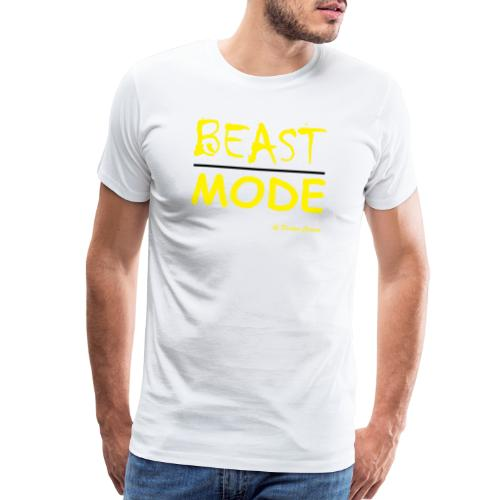 MODE, BEAST-YELLOW - Men's Premium T-Shirt