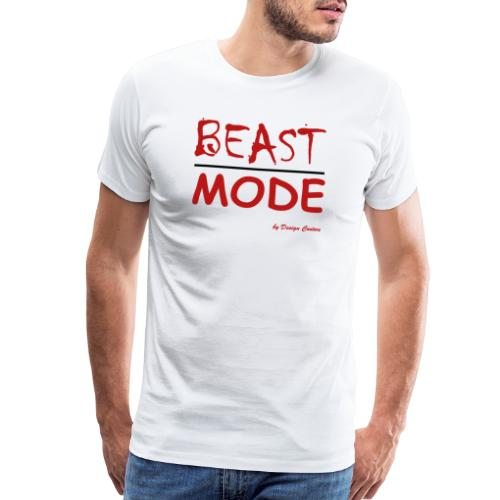 MODE, BEAST-RED - Men's Premium T-Shirt