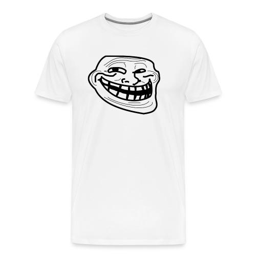 Troll Face short sleeved shirt - Men's Premium T-Shirt