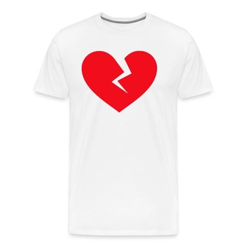Broken Heart - Men's Premium T-Shirt