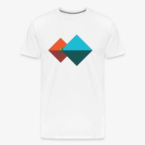 Paper Moon - Men's Premium T-Shirt