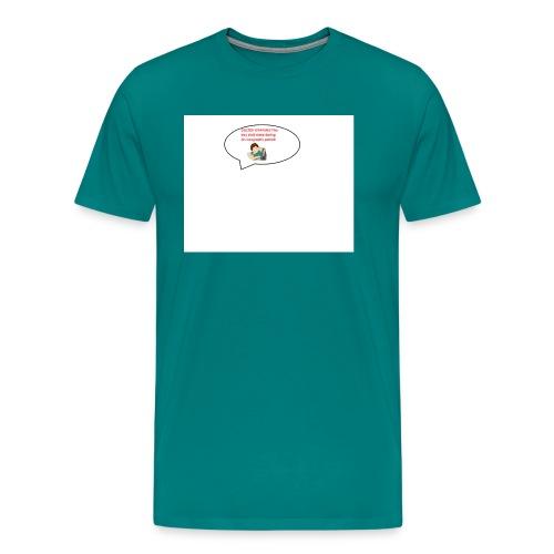 mens best cotton shirts This boy must sleep! - Men's Premium T-Shirt
