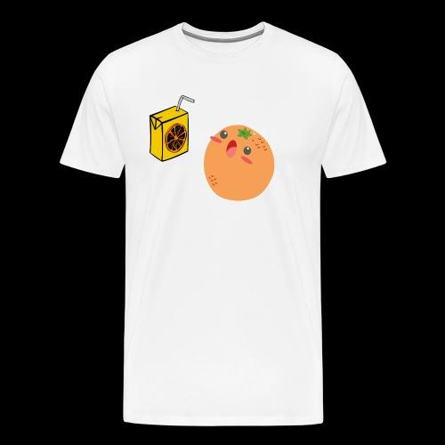 Oh orange you didn't - Men's Premium T-Shirt