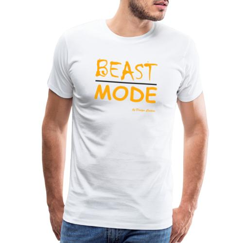 MODE, BEAST-ORANGE - Men's Premium T-Shirt