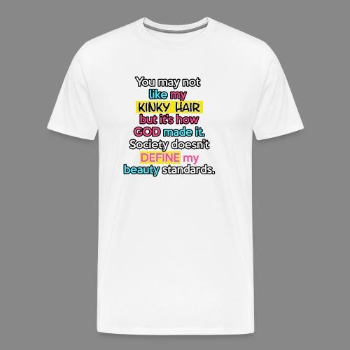 Beauty Standards - Men's Premium T-Shirt