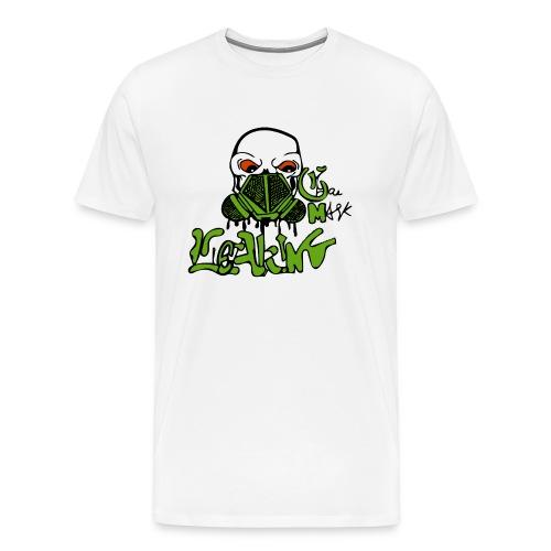 Leaking Gas Mask - Men's Premium T-Shirt