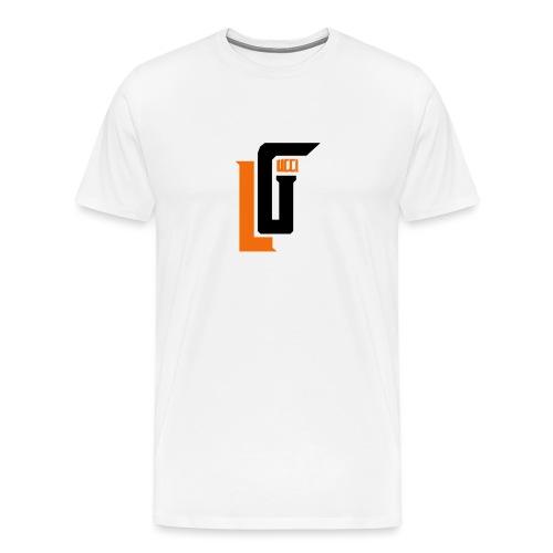 Lil Gucci Logo Hoodie - Mens - Men's Premium T-Shirt