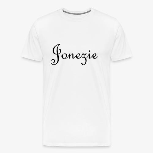 Jonezie Signature - T-Shirt - Men's Premium T-Shirt