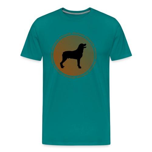 Rottweiler - Men's Premium T-Shirt