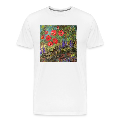 IMG 7260 Spring garden - Men's Premium T-Shirt