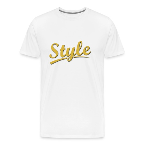 Step in style merchandise - Men's Premium T-Shirt
