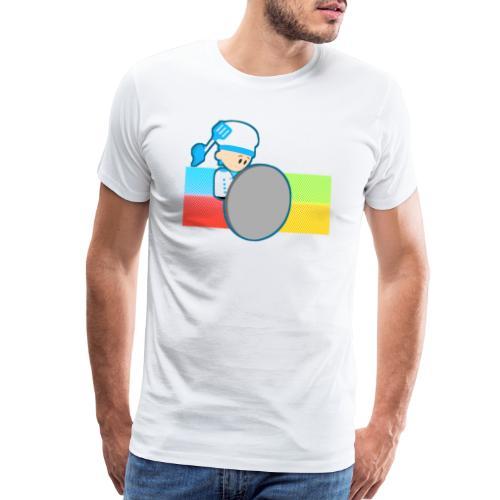 Muffin Fight - Blue Shirt - Men's Premium T-Shirt
