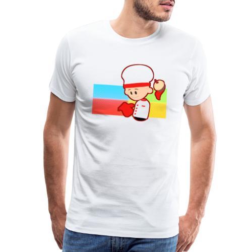 Muffin Fight - Red Shirt - Men's Premium T-Shirt