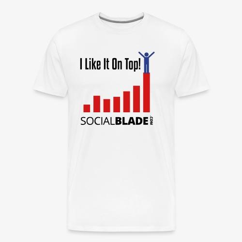 I Like It On Top - Guy - Men's Premium T-Shirt