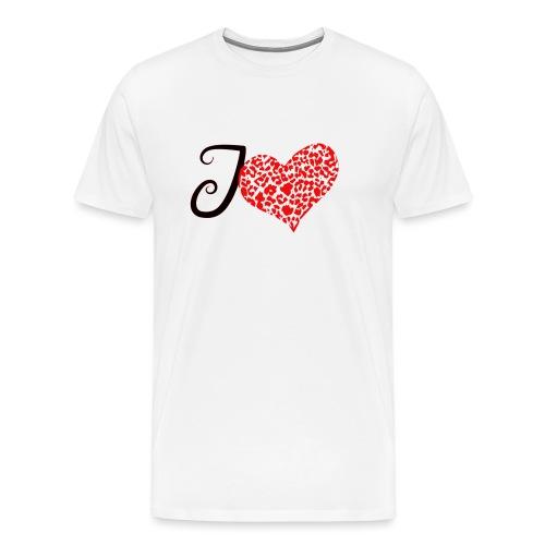 I Love... - Men's Premium T-Shirt