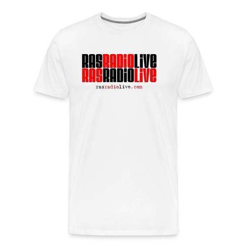 rasradiolive png - Men's Premium T-Shirt