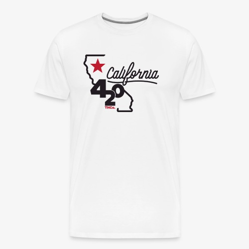 California 420 - Men's Premium T-Shirt