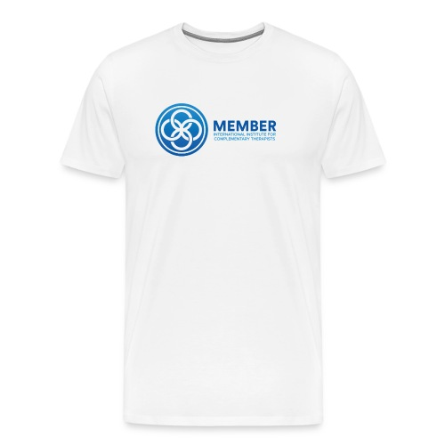 IICT Member Logo - Men's Premium T-Shirt