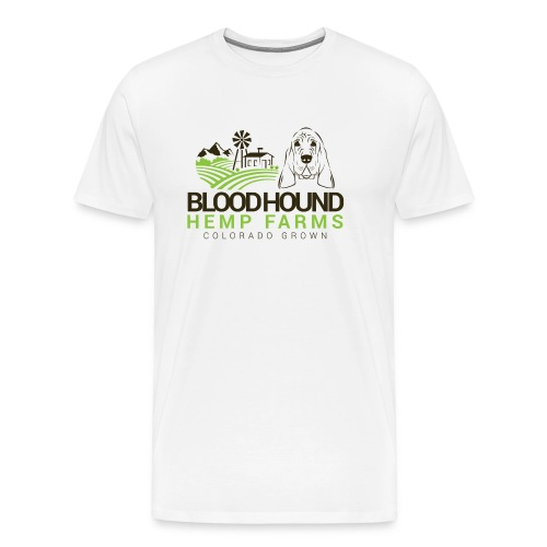BloodhoundHempFarms - Men's Premium T-Shirt
