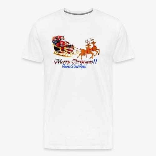 Merry Christmas-America - Men's Premium T-Shirt