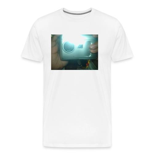 say smile - Men's Premium T-Shirt