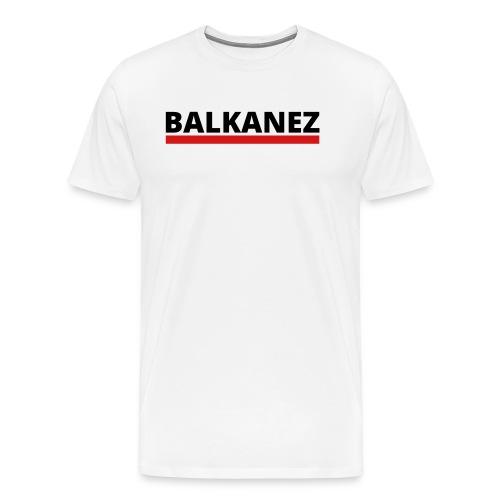 BALKANEZ BLACK - Men's Premium T-Shirt