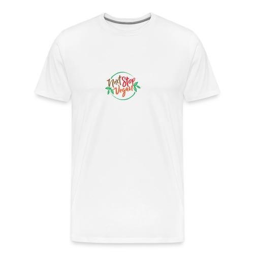 NextStopVegan01 2 - Men's Premium T-Shirt
